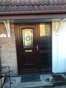 UPVC Door Installed